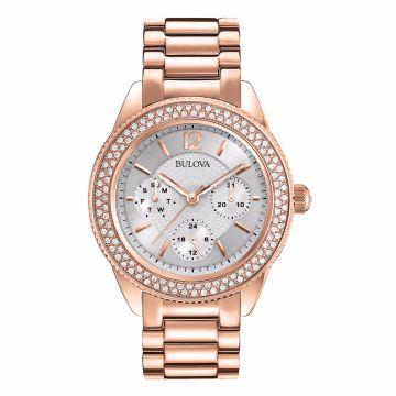 Reloj Bulova con Cristales Swarovski 97N101