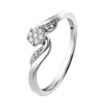 ANILLO SOLITARIO ROSE