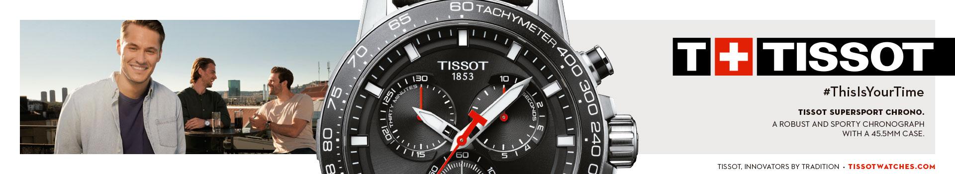 Banner relojes Tissot Cristal Joyas