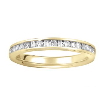 CHURUMBELA DIAMANTES CORTE BAGUETTE Y BRILLANTE